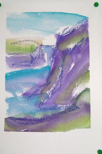 Midvagur 2 18X25, akvarel