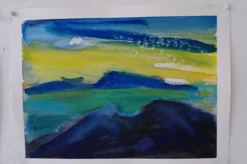 Nolsoy 2, 25X19, akvarel