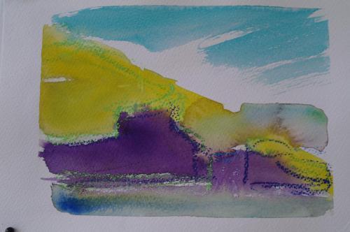 Nolsoy 3, 25X19, akvarel
